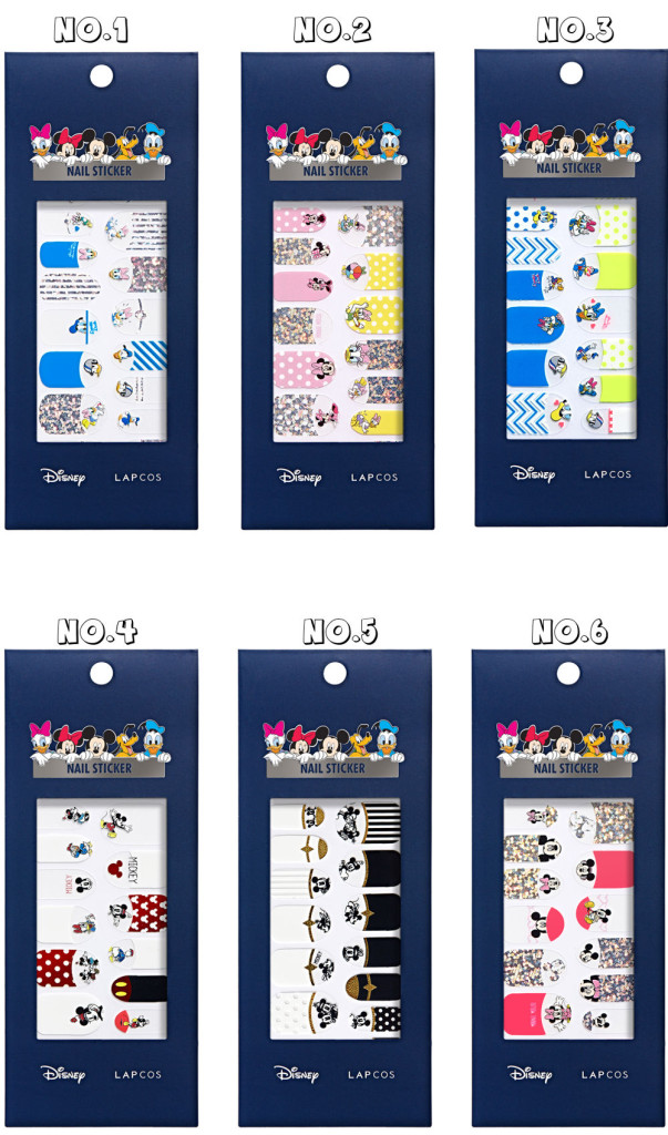 LAPCOS x Disney Nail Sticker