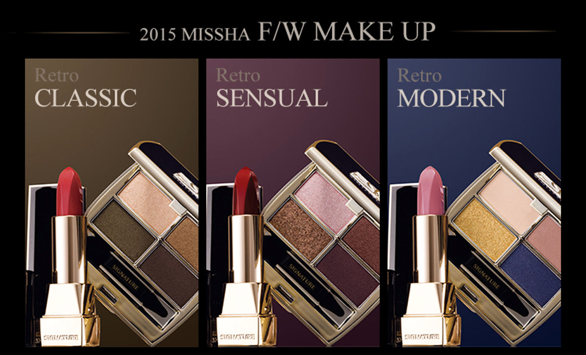MISSHA 2015 F/W Make Up