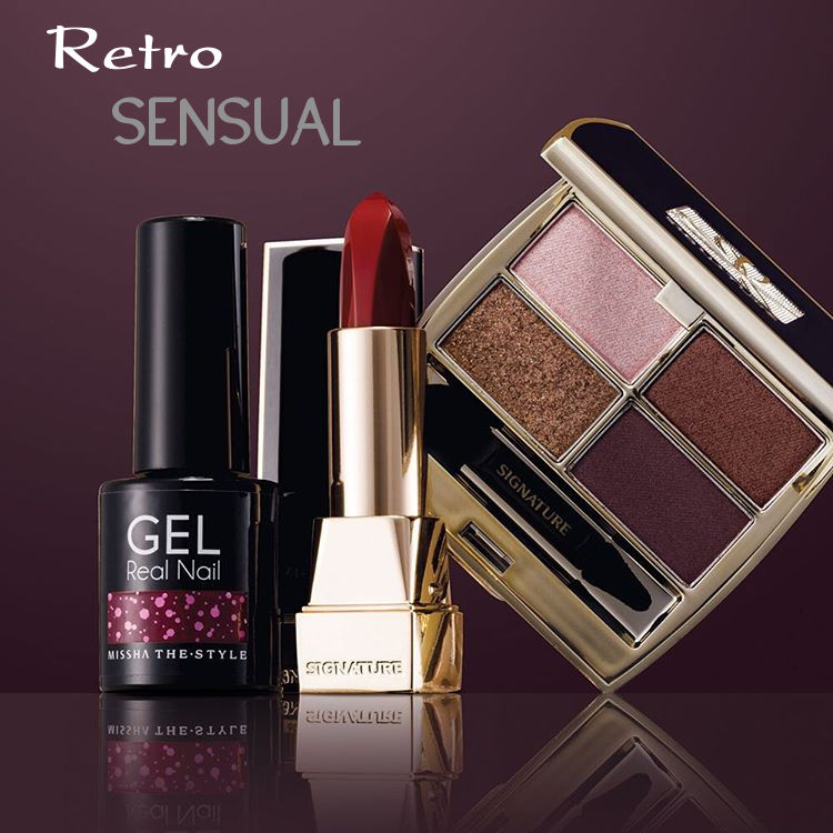 MISSHA 2015 F/W Make Up Retro Sensual