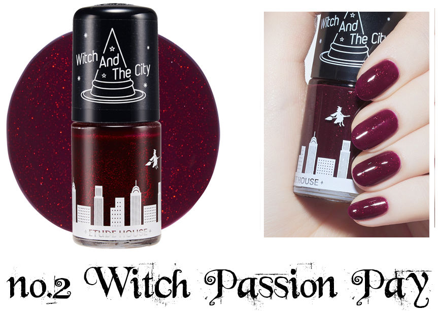 Etude House Halloween Play Nail no.2 Wich Passion Pay