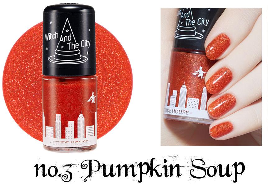Etude House Halloween Play Nail no.3 Pumpkin Soup