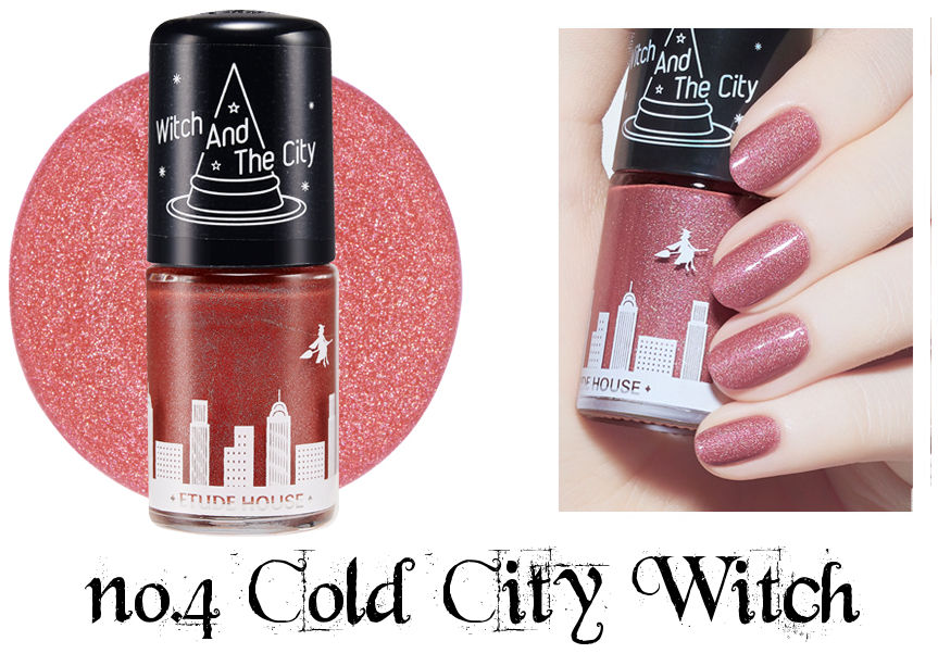Etude House Halloween Play Nail no.4 Cold City Witch