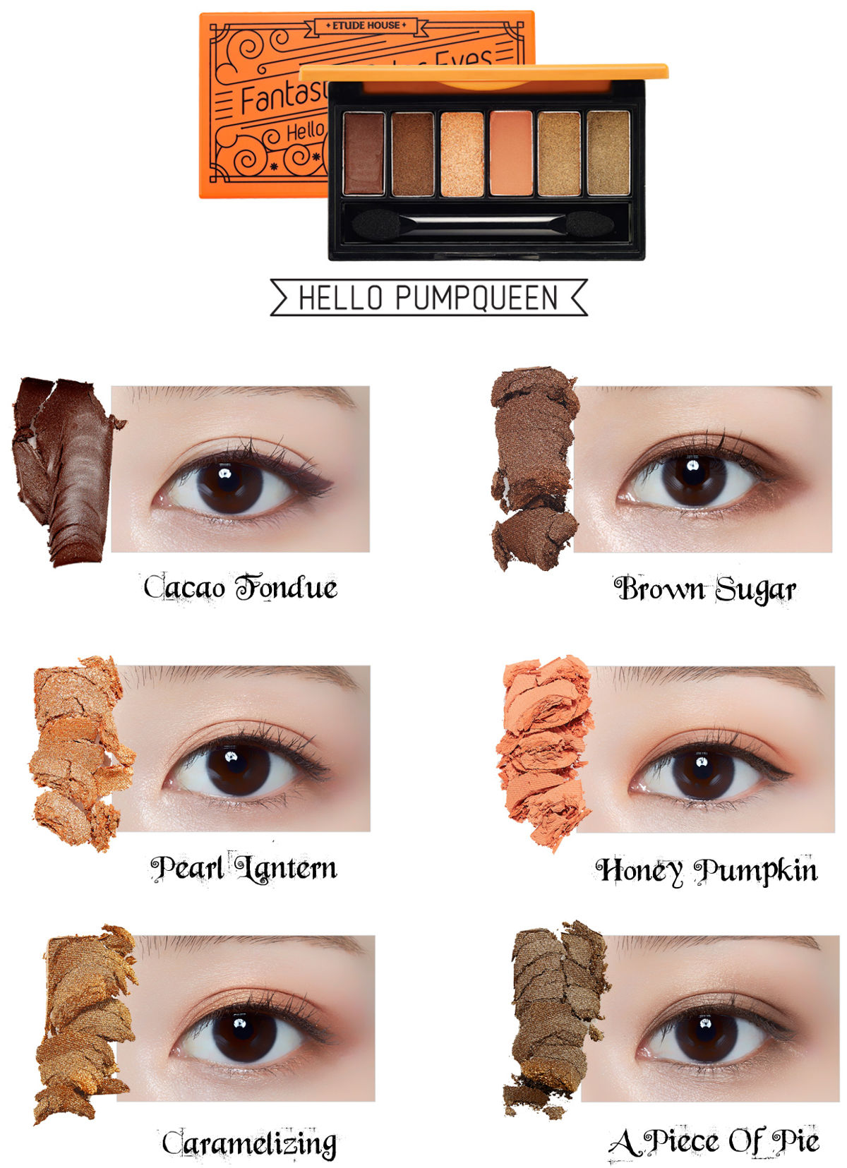 Etude House Halloween Fantastic Color Eyes Hello Pumpqueen