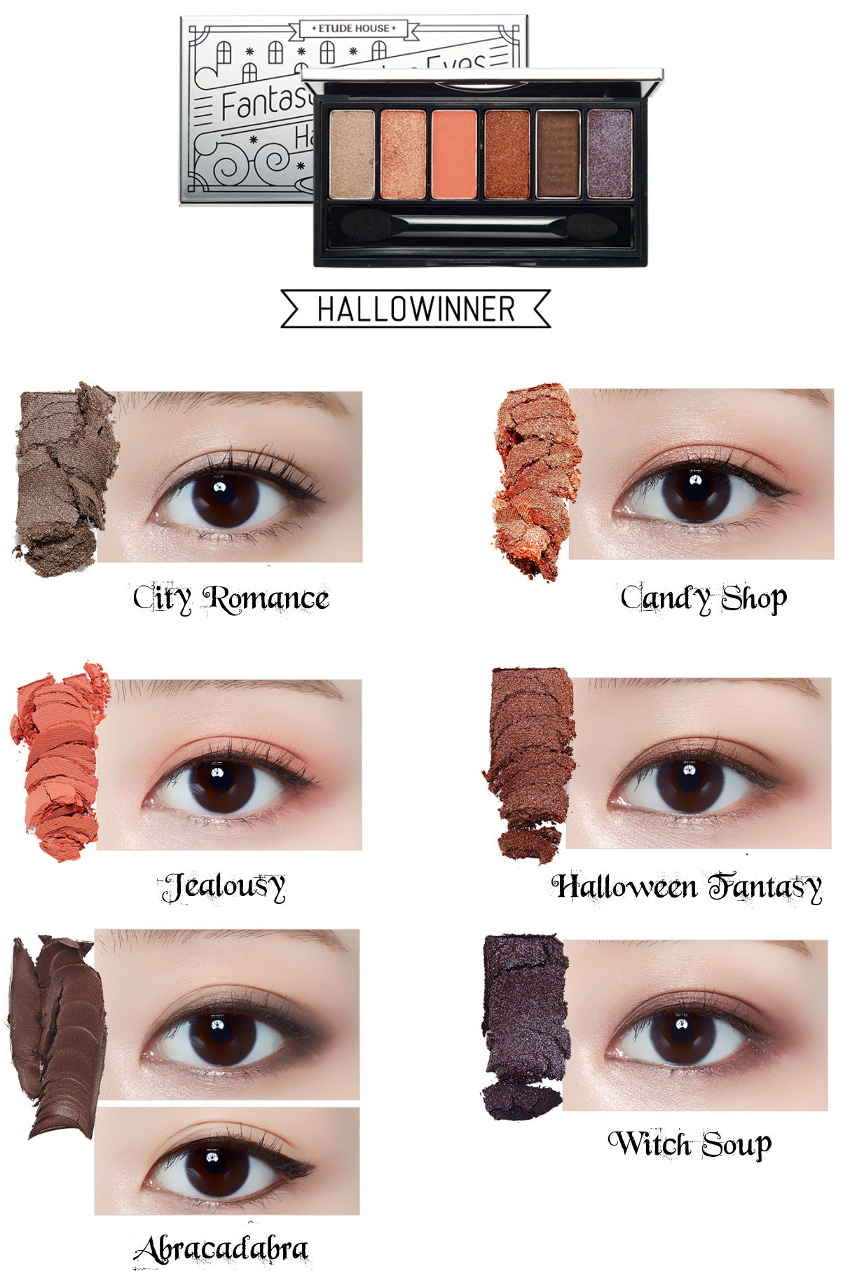 Etude House Halloween Fantastic Color Eyes Hallowinner