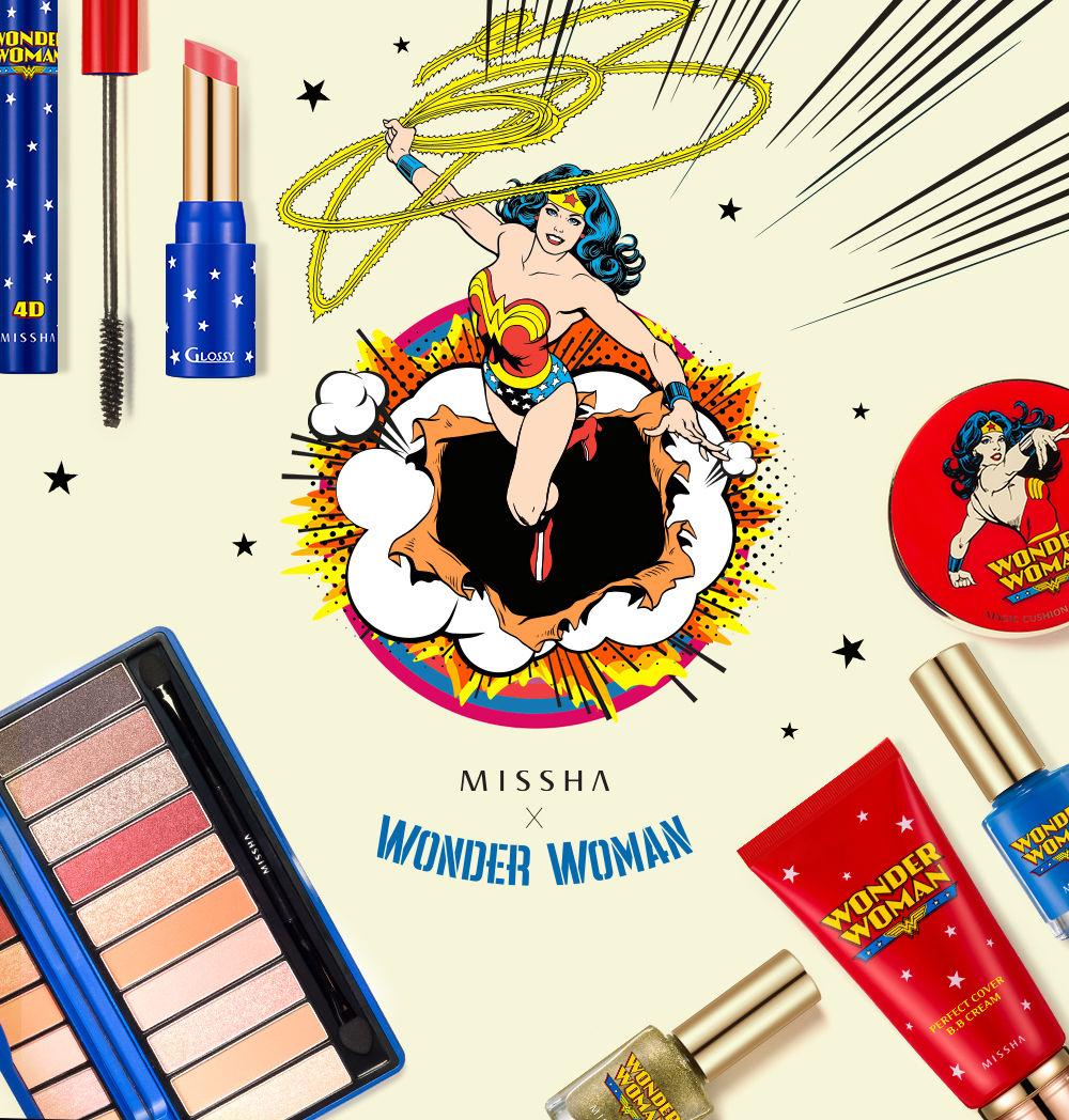 MISSHA limitowana kolekcja Wonder Woman