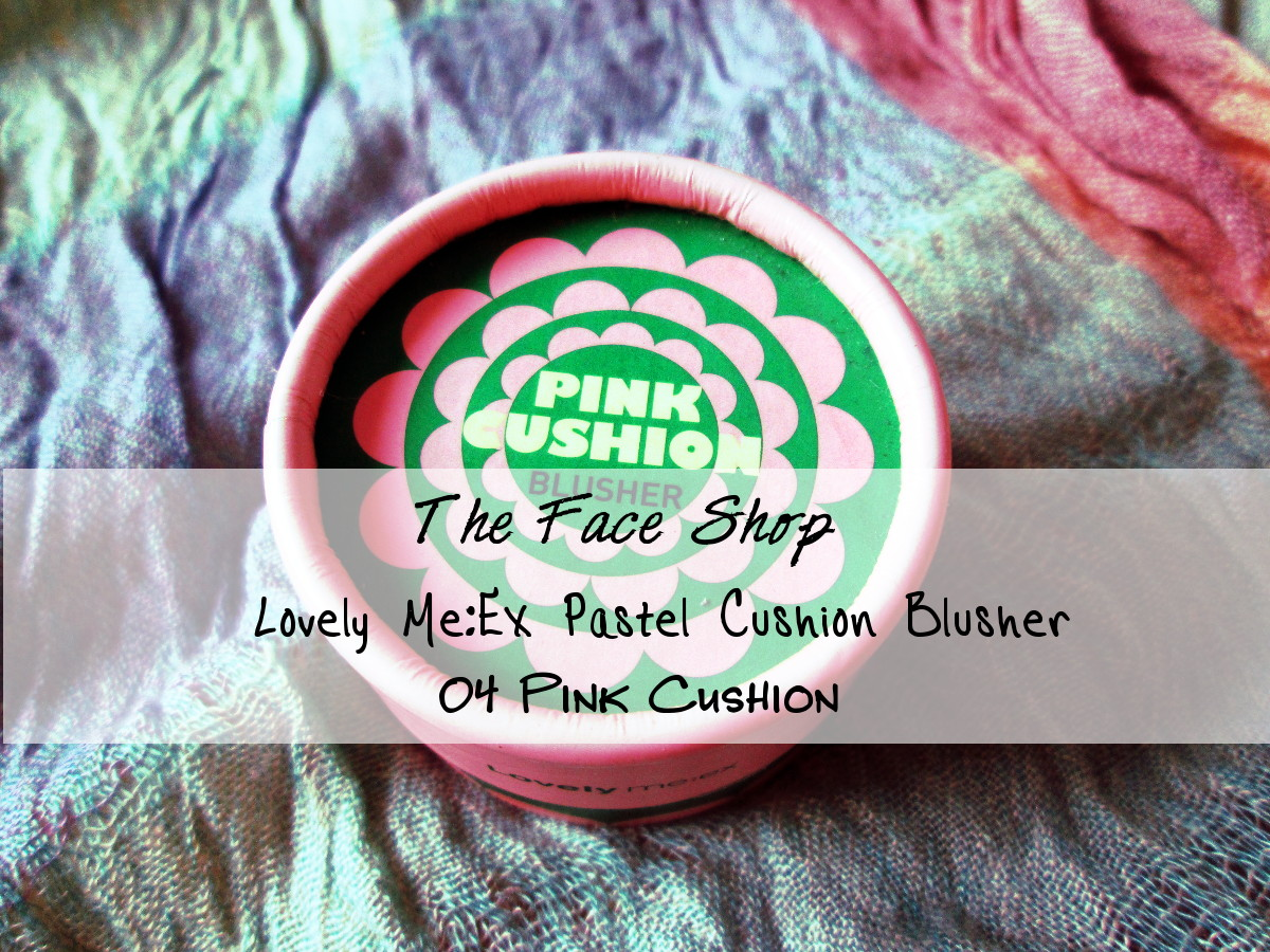 The Face Shop Lovely Me:Ex Pastel Cushion Blusher 04 Pink Cushion