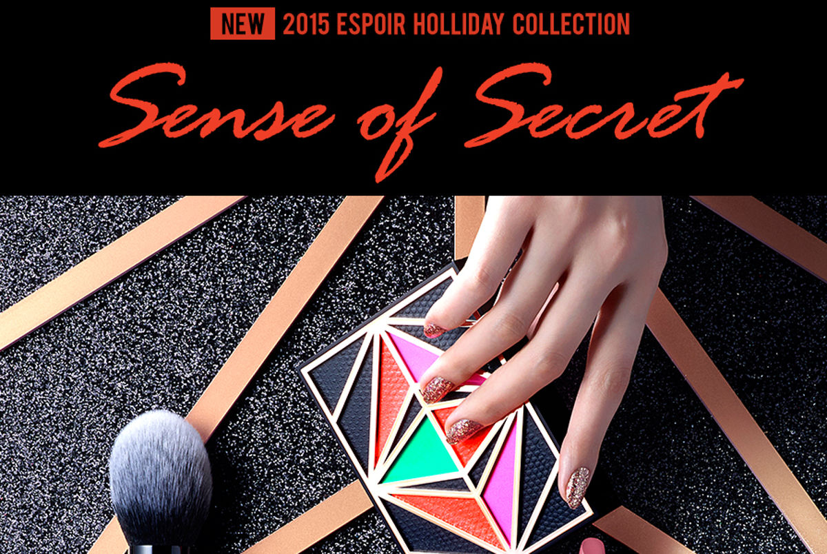 eSpoir 2015 Holliday Collection Sense of Secret