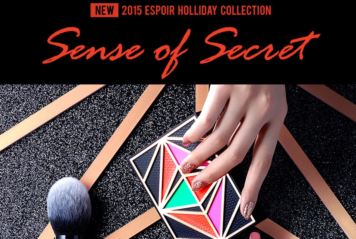 eSpoir 2015 Holliday Collection Sense of Secret