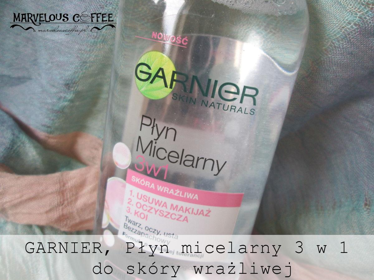 GARNIER Płyn micelarny 3 w 1 do skóry wrażliwej