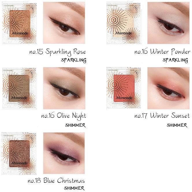 MAMONDE Vivid Touch Eyes Holiday Edition