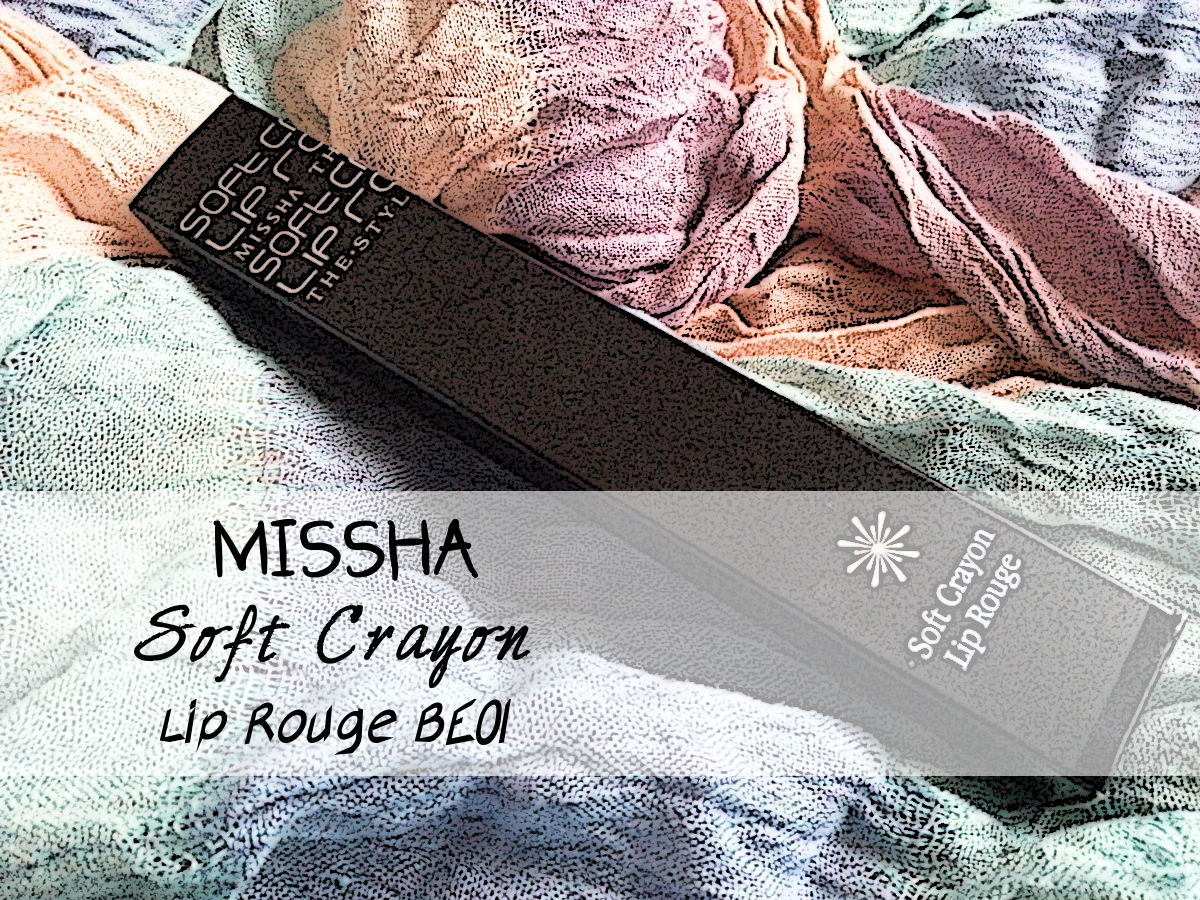 Missha Soft Crayon Lip Rouge BE01