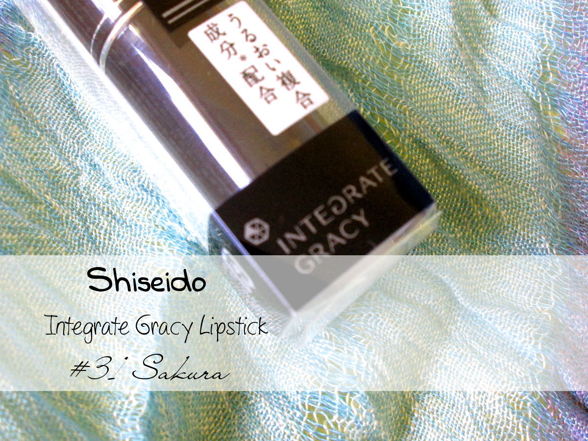 Shiseido Integrate Gracy Lipstick #31 Sakura