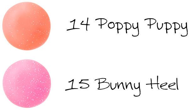 CHICCA Mesmeric Gloss On 14 Poppy Puppy, 15 Bunny Heel