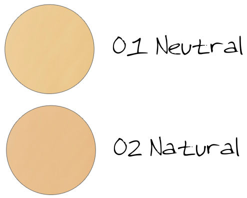 CHICCA Ravishing Glow Makeup Base Tone Up 01 Neutral, 02 Natural