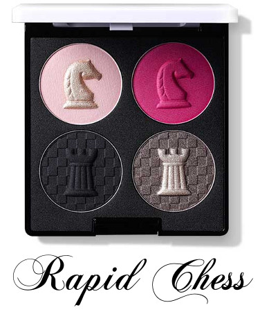 eSpoir 2016 New Year Collection CHESS & Peace Eyeadow Quad Rapid Chess
