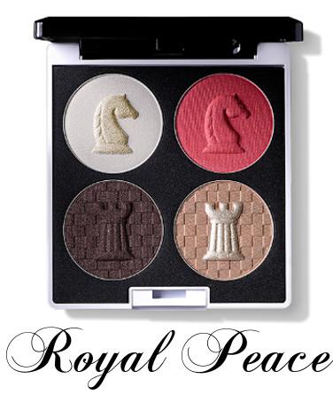 eSpoir 2016 New Year Collection CHESS & Peace Eyehadow Quad Royal Peace