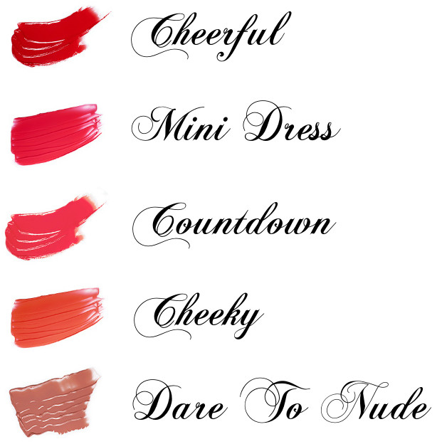 eSpoir 2016 New Year Collection CHESS & Peace Couture Touch Lip Fluid Cheerul, Mini Dress, Countdown, Cheey, Dare To Nude