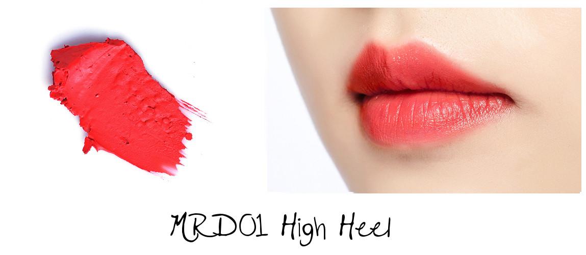 MISSHA Line Friends Edition Matt Lip Rouge MRD01 High Heel