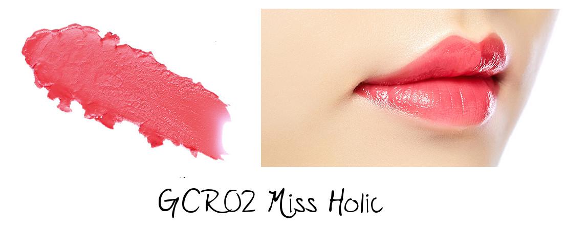 MISSHA Line Friends Edition Glossy Lip Rouge GCR02 Miss Holic