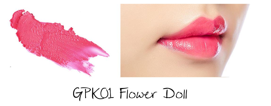 MISSHA Line Friends Edition Glossy Lip Rouge GPK01 Flower Doll