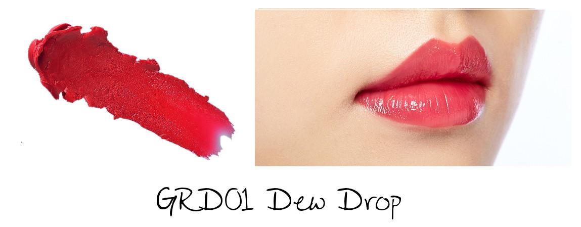 MISSHA Line Friends Edition Glossy Lip Rouge GRD01 Dew Drop
