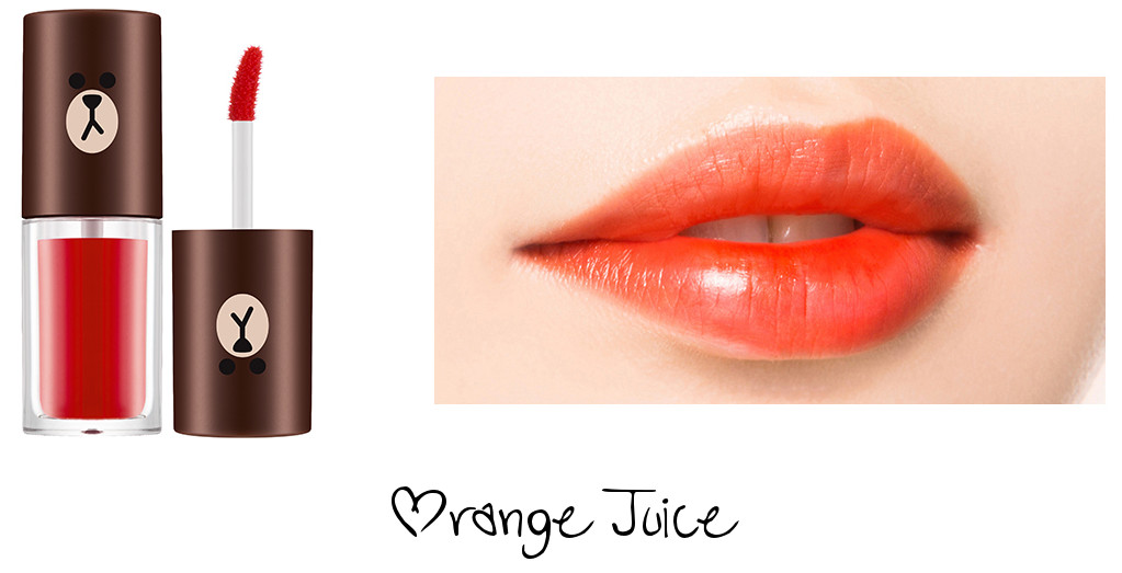 MISSHA Line Friends Edition Water Full Tint Orange Juice