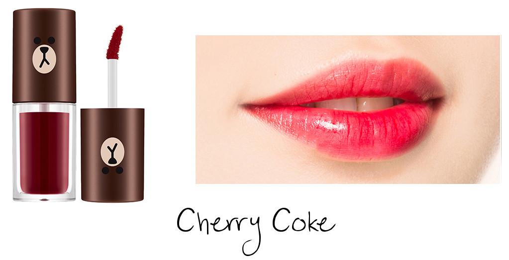 MISSHA Line Friends Edition Water Full Tint Cherry Coke