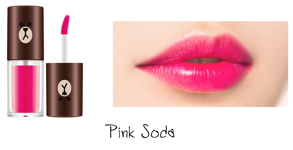 MISSHA Line Friends Edition Water Full Tint Pink Soda