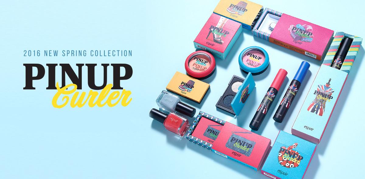 eSpoir 2016 Spring Collection Pinup Curler