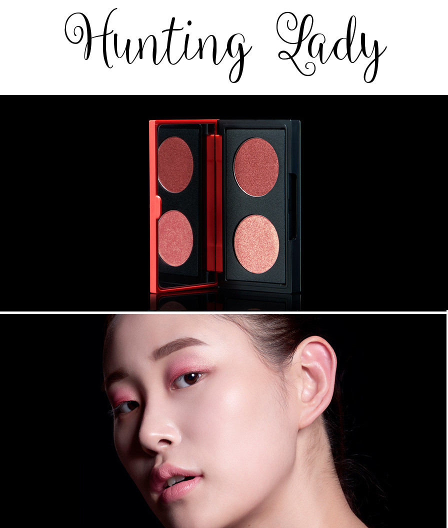 eSpoir 2016 Spring Collection Pinup Curler Eyeshadow Duo Hunting Lady