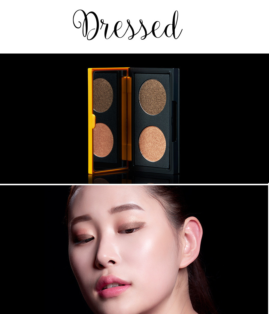 eSpoir 2016 Spring Collection Pinup Curler Eyeshadow Duo Dressed