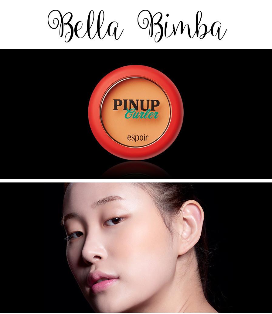 eSpoir 2016 Spring Collection Pinup Curler Fabulous Blusher Bella Bimba