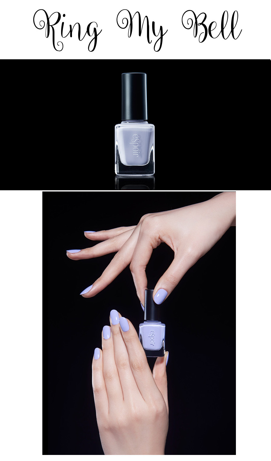 eSpoir 2016 Spring Collection Pinup Curler Fashion Nail Ring My Bell