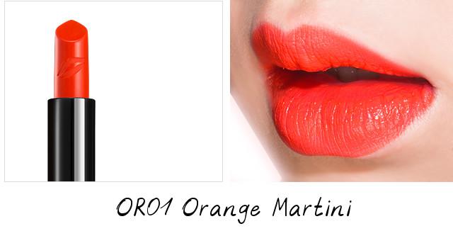 Missha Glam Art Rouge OR01 Orange Martini