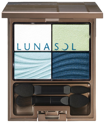 LUNASOL Clear Colorful Eyes EX01 Ocean Lagoon Collection