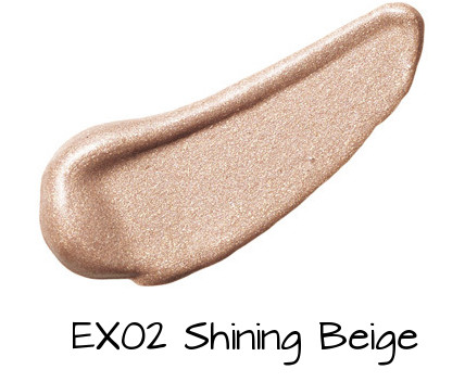 LUNASOL Shining Clear Eyes EX02 Shining Beige