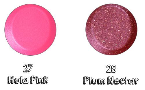 CHICCA Mesmerick Lipstick 27 Hula Pink, 28 Plum Nectar