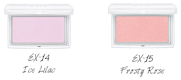 RMK Ingenious Powder Cheeks N EX-14 Ice Lilac, EX-15 Frosty Rose