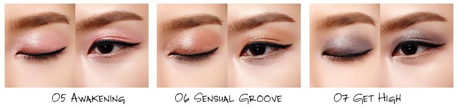 VDL Awakening Collection Expert Color Pot Eyes (Cluster) 05 Awakening, 06 Sensual Groove, 07 Get High
