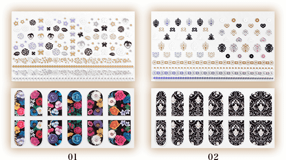 Anna Sui 2016 Autumn Collection Nail & Body Sticker