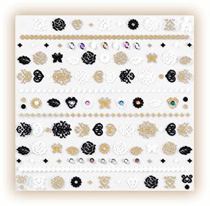 Anna Sui 2016 Autumn Collection Bijoux Stickers