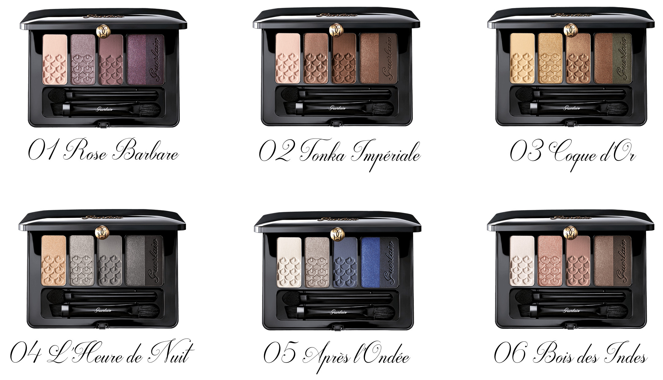 Guerlain Fall Collection 2016 Palette 5 Couleurs