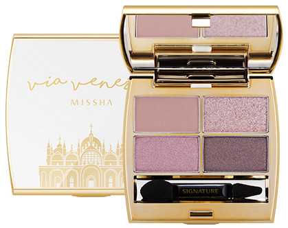 MISSHA Signature Velvet Art Shadow  Venezian Rose (Venezian Edition)