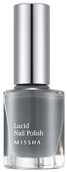 MISSHA Lucid Nail Polish GA02 Gray House
