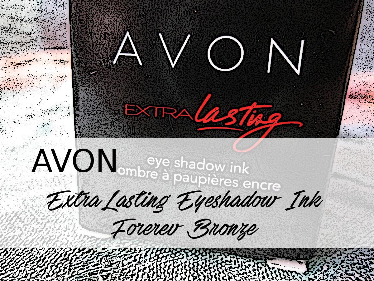 AVON ExtraLasting Eyeshadow Ink Forever Bronze