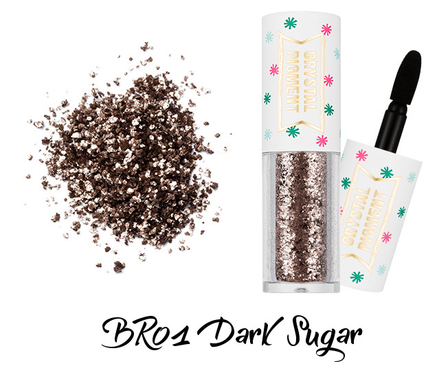 MISSHA Crystal Pigment BR01 Dark Sugar
