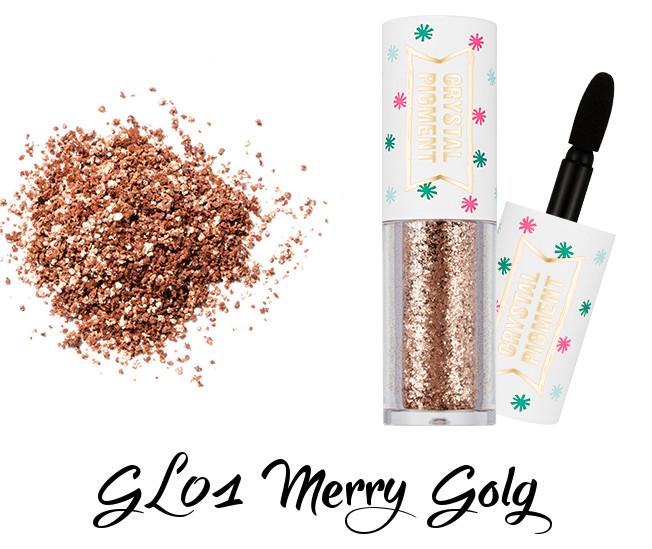 MISSHA Crystal Pigment GL01 Merry Gold