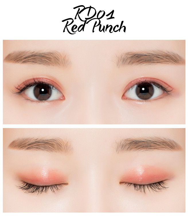 MISSHA Crystal Pigment RD01 Red Punch