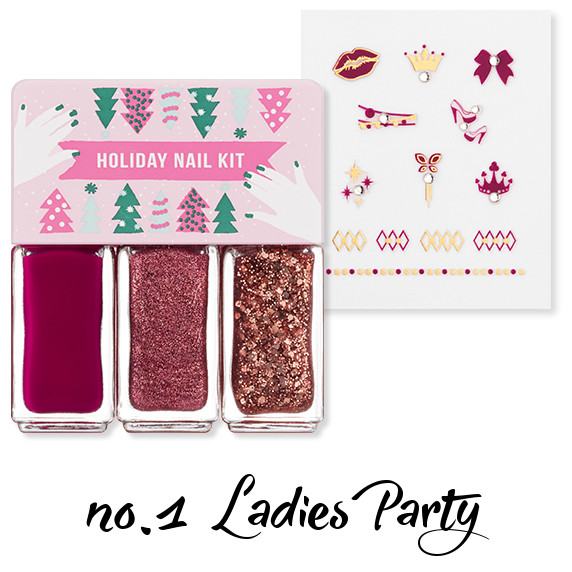 MISSHA Holiday Nail Kit no.1 Ladies Party