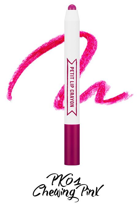 MISSHA Petit Lip Crayon PK01 Chewing Pink